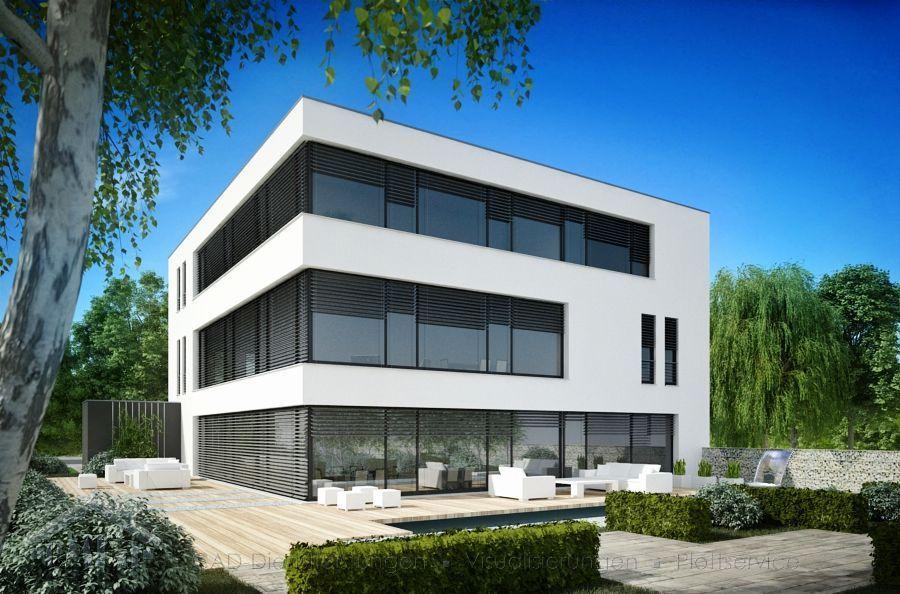 CKE Bürogebäude in Eppstein Garten