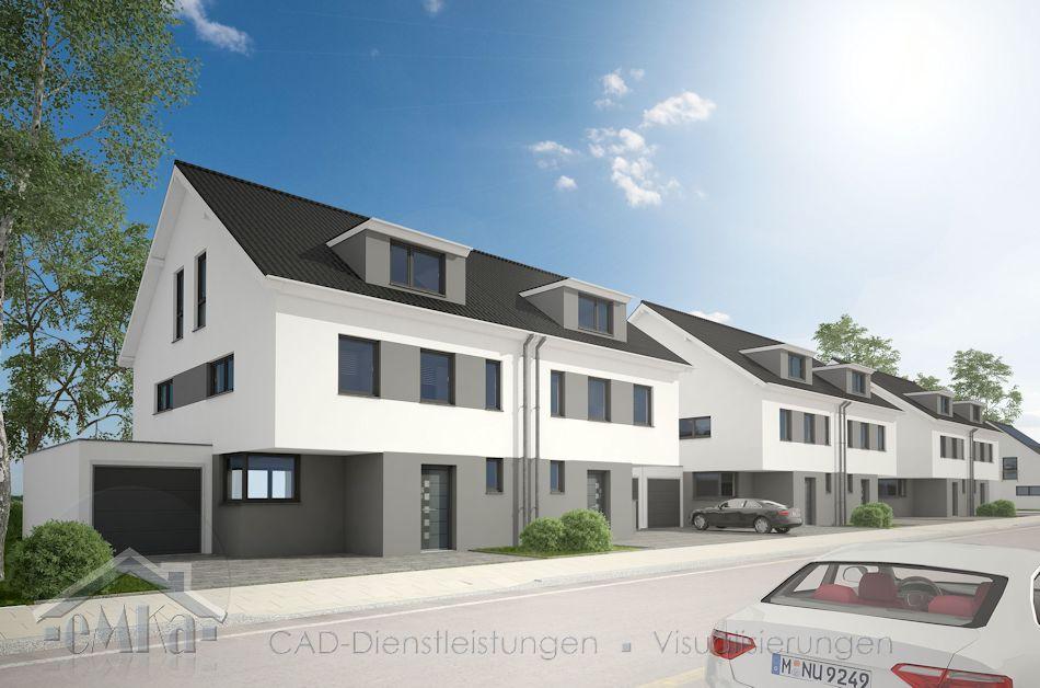DHH mit Garage in Baesweiler, Herzogenrather Str.-Übercher Weg Strasse GANZ