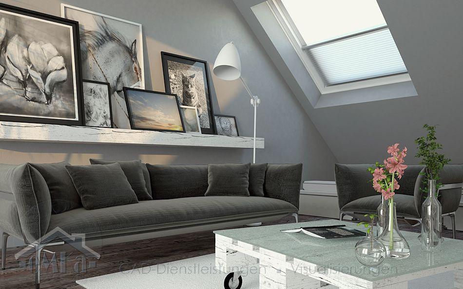 Dachgeschoss modern