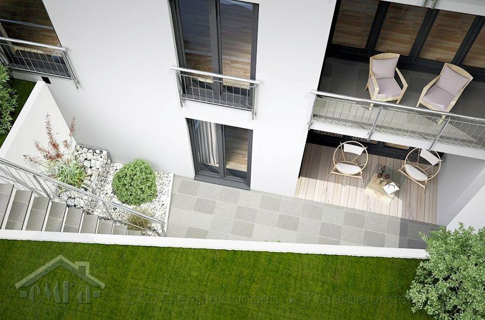 Mettmann Atrium Terrasse rechts 3